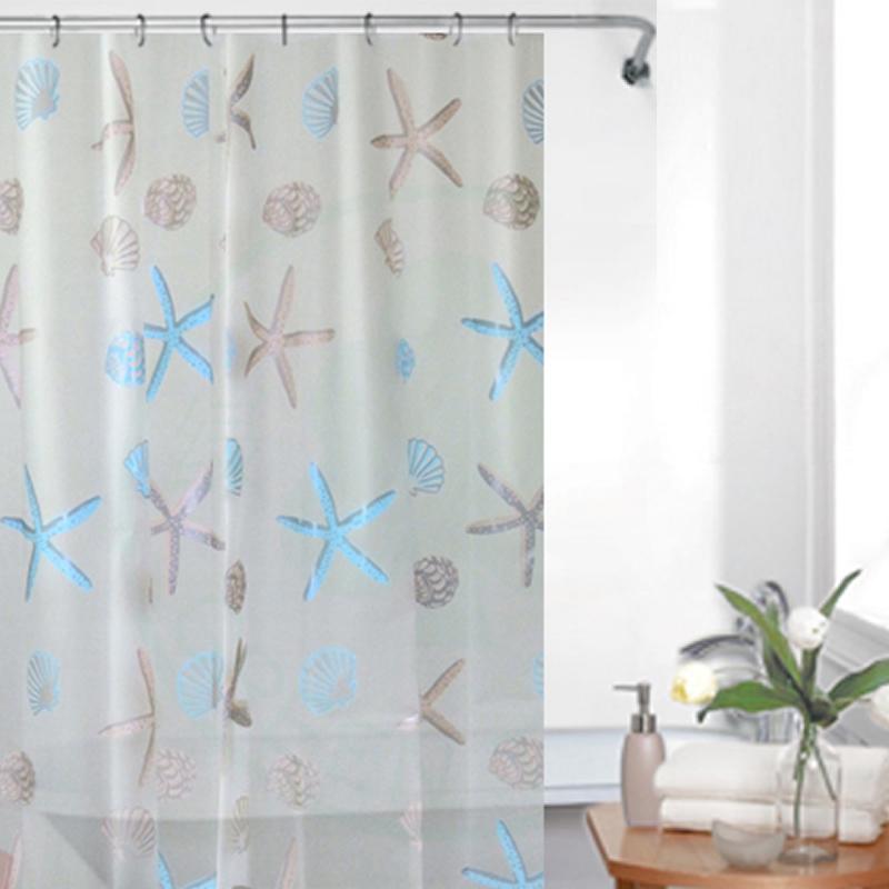 Nana scrub waterproof peva shower curtain(China (Mainland))