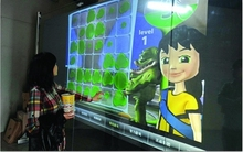 2015 High Quality 37″ Interactive Touch Foil, 6 points Transparent Multi-Touch Screen Foil Film