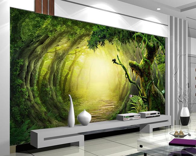 Acheter murale papier peint mural mural 3d for Les differents types de peintures murales