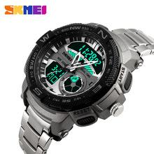 2016 Quartz Digital SKMEI Watch Men Dual Time Man Sports Watches Men S Shock Military Army Reloj Hombre LED Wristwatches