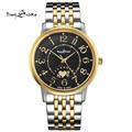 Brand Anti Clockwise Classic Fashion Ultra Slim Watch Men s Quartz Stainless Steel Wrist Watches Waterproof