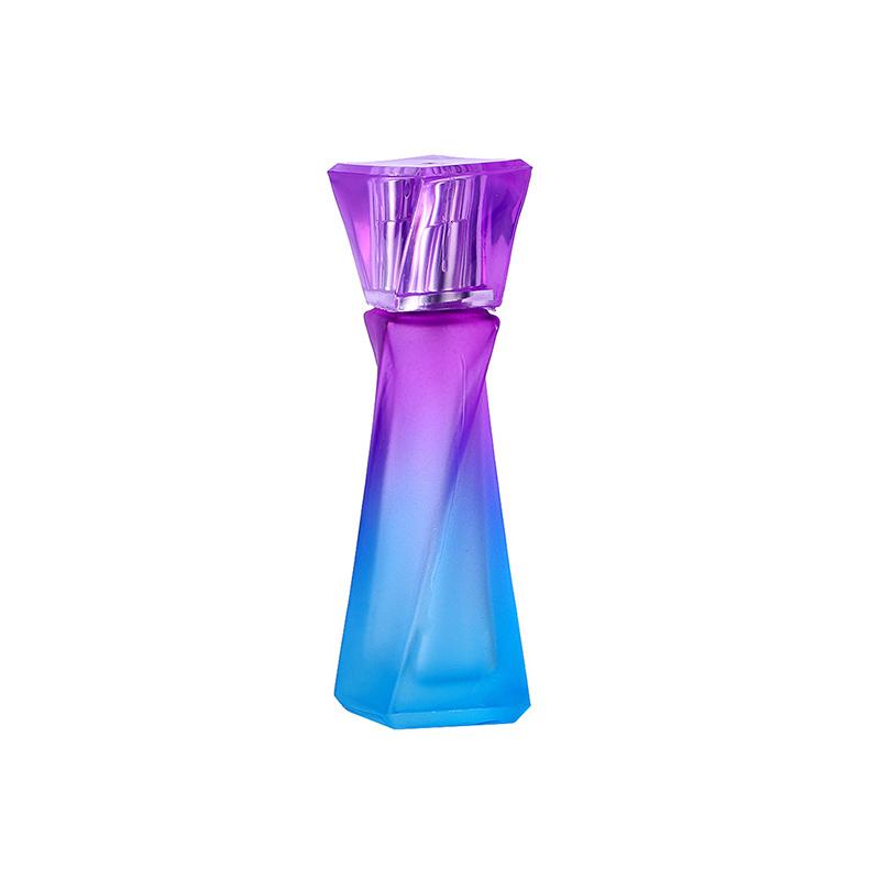 Hot Selling 15ml purple and blue Refillable Portable perfume bottle &Traveler Aluminum Spray Atomizer Empty Parfum bottle(China (Mainland))