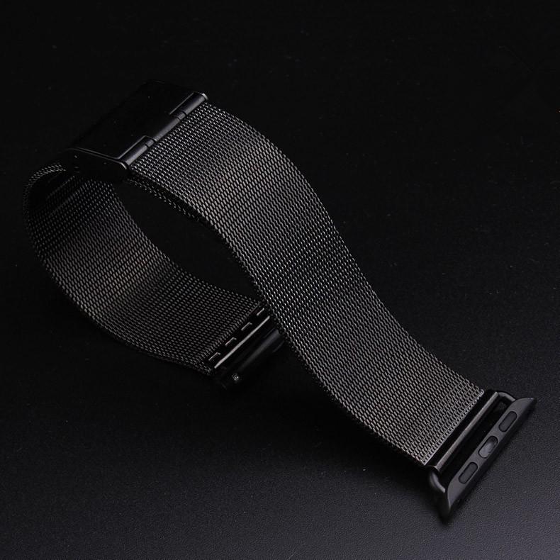 Milanese микро-цикла часы группы из нержавеющей стали сетки обертывания для Apple , часы магнитным замком застежка ремешка 38 мм 42 мм iwatch группа