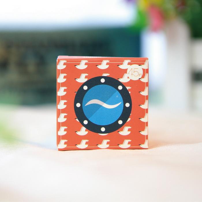 45Pcs/Pack New Chocolate Sticker Diary Stickers Blue Sea Diy Photos Post Set Label H0604(China (Mainland))