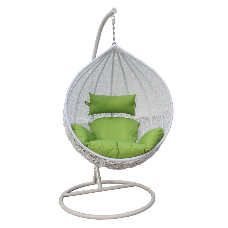Balcony hammock hanging chair indoor and outdoor patio furniture rattan basket wicker rocking(China (Mainland))