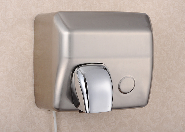 Stainless Hand Dryer,2300W High quality Hotels Hand Dryer Size 275*200*230mm Electric Hand Dryer Wall Mount Empty Speaker(China (Mainland))