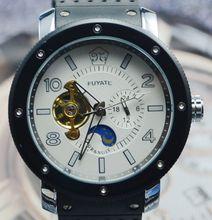 Fuyate sol personalidad comercial completamente automático para hombre reloj mecánico j133