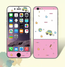Pink car painting Sticker for Iphone 6 6S Plus Screen Protector Iphone6 iphon6s 5.5″ Cell Mobile Smart Phones Cover Film