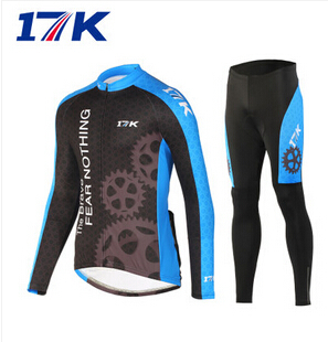 2015 Men's 17K Team Cycling Wear long jersey Bicycle Bike athletic bike Jersey Cycle Clothing sets - Happy sports store