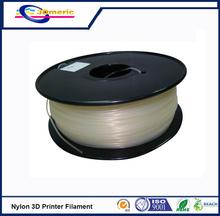 High Transparency 3D Printer Filament PA/Nylon Filament for 3D Printer Good Elasticity