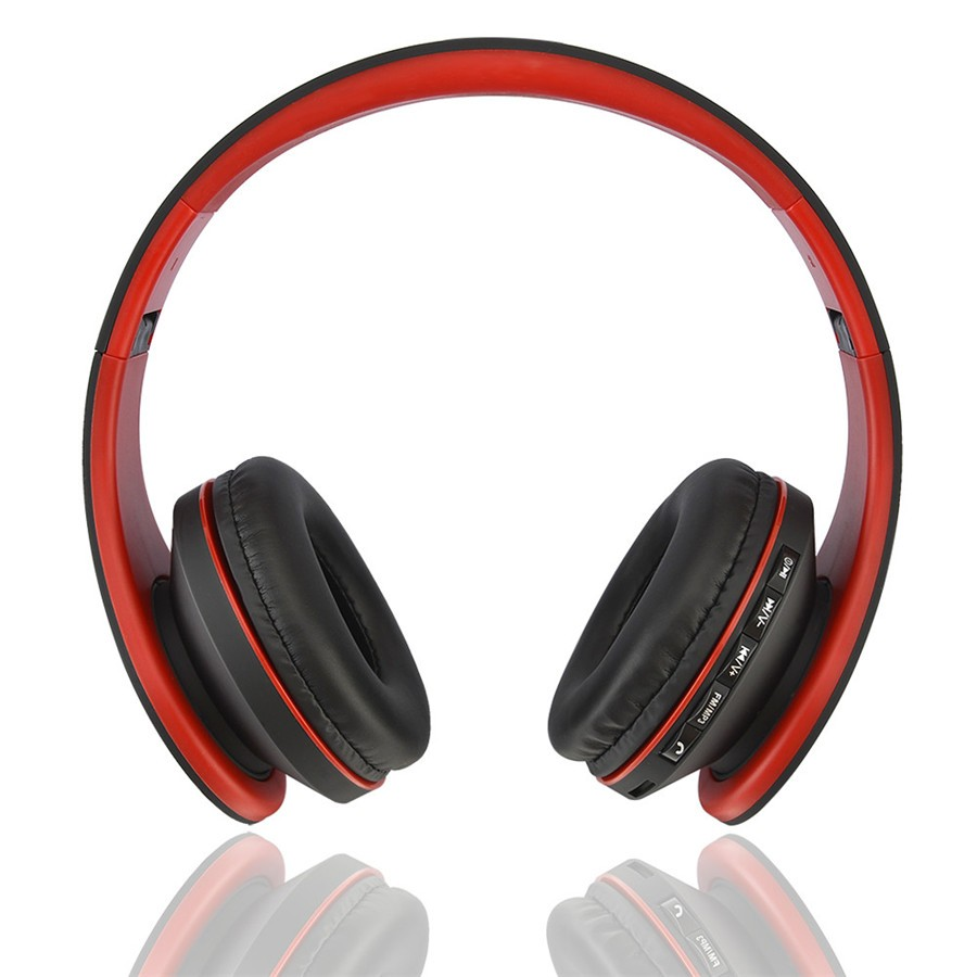 BT-811 Wireless & Wired Bluetooth Stereo Headphone Portable Foldable Earphone Handsfree Mic MP3 FM Headset For Smart Phones