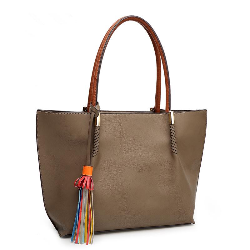 Fashion Women Handbag Tassel Genuine leather bags Shoulder bags Designer TOP Casual Purse Crossbody Tote Bag Bolsas femininas<br><br>Aliexpress