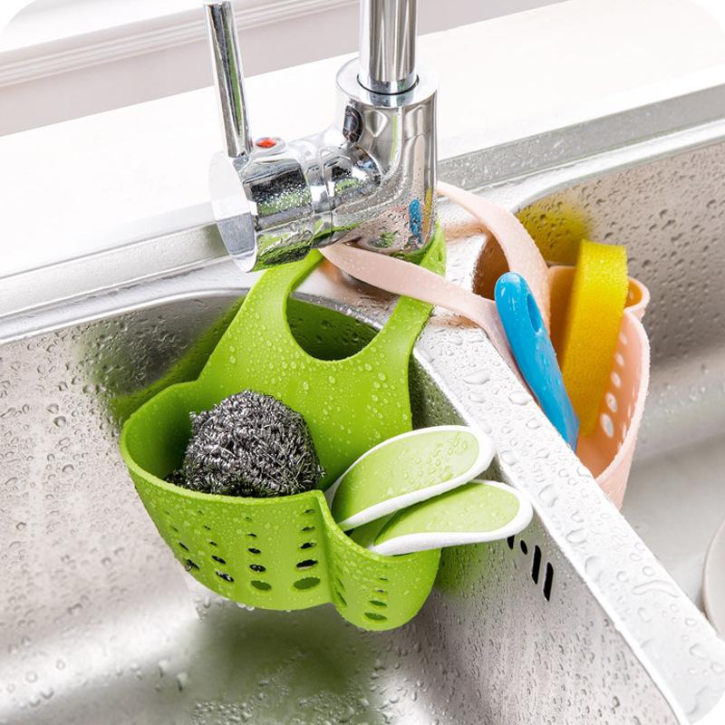 Kitchen Sink Sponge Holder: 1PC Kitchen Sink Sponge Holder Bathroom Soap Hanging