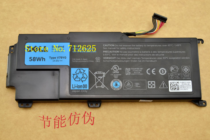 3-Year Warranty! New Genuine Laptop Replacement Battery For Dell V79Y0, V79YO XPS 14z f412z 15z 511x 511z Series Free Shipping<br><br>Aliexpress