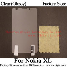 Clear Glossy LCD Screen Protector Guard Cover Protective Film Shield For Nokia XL Dual SIM / Nokia XL 4G TD-LTE