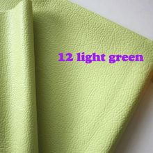 light green PU leather Faux Leather Fabric Sewing PU artificial leather for diy bag material, sold BY THE YARD, FREE SHIPPING(China (Mainland))