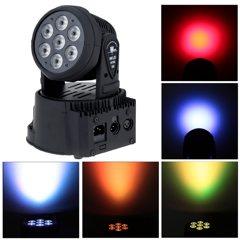 Professional Moving Head Beam Light 70W RGBW multi-color Led lamp DMX-512 5/13 channels Stage Lighting Disco Light Sound Active(China (Mainland))