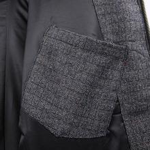 Viishow brand 2015 jacket Male Fashion Winter Coat Men Casual Patchwork Warm Parka Striped Overcoat