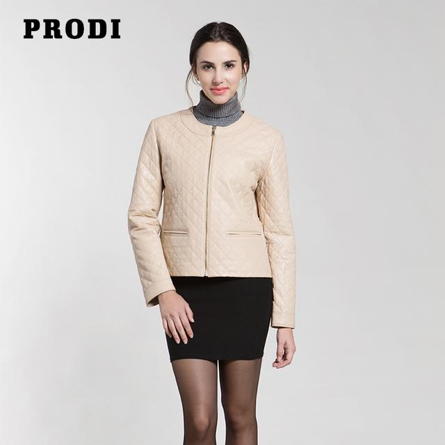ПРОДИ 2016 зима женская подлинная овчины кожаная куртка PR1617