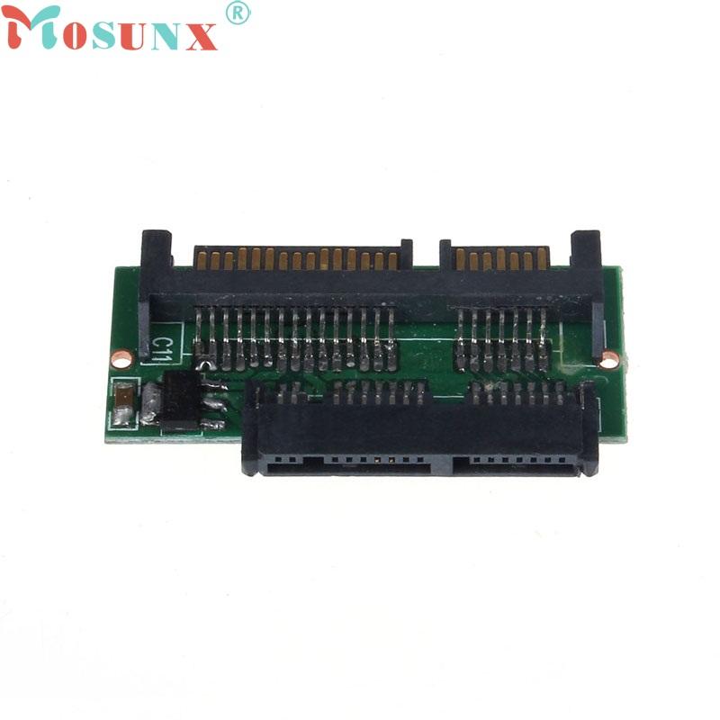 Beautiful Gift New 1.8 Inch Micro SATA HDD SSD 3.3V to 2.5 Inch 22PIN SATA 5V Adapter Free Shipping Apr8(China (Mainland))