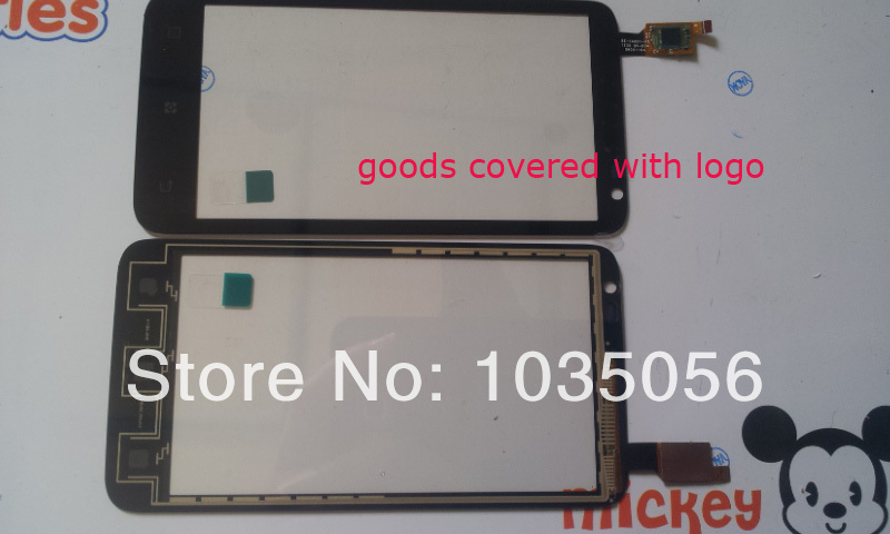 5Pcs/Lot For Lenovo S720 Touch Screen Digitizer Replacement Parts Touch Panel Glass Lens With Tracking NO ; Free Shipping