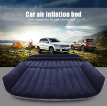 Deflatable Air Inflation Car Bed Mattress Drive Camping Flocking Car-covers PVC Material Travel Car Cover Seat Cover Automobiles(China (Mainland))
