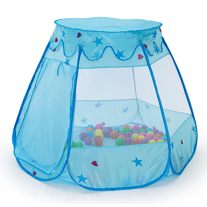 Good Quality Safety Foldable Play Tent Fence Girls Boys Play House Portable Ball Pool Indoor Children Play Yard Baby Playpens(China (Mainland))