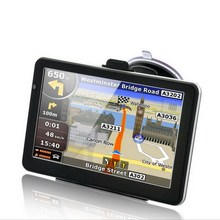 Автомобильный gps навигации навигатор 4.3 дюймов FM передатчик сенсорный экран встроенный 4 ГБ навител или примо предварительной нагрузки