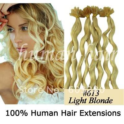 20inch 50cm Long Curly Keratin