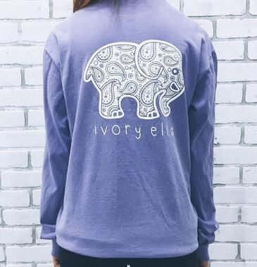 2016 New Women Spring Autumn Casual Print Elephant Top Long Sleeve Pocket Cotton Lady T Shirt Loose T-shirts Tops Plus Size Hot