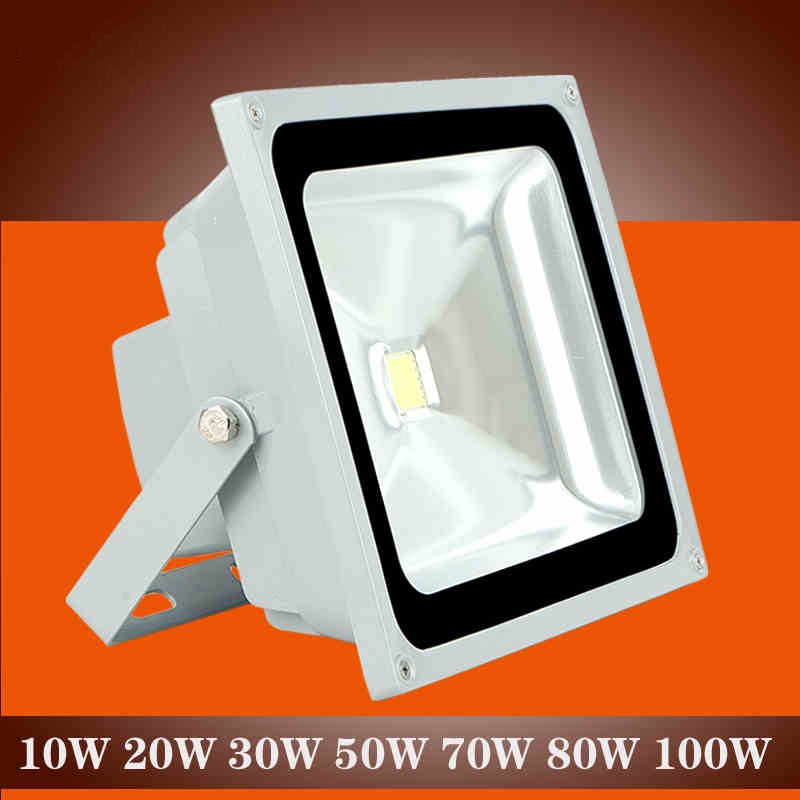 Led flood light waterproof outdoor lamp spot led reflector for Focos led exterior 50w