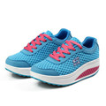 Free shipping 2015 Summer styles mesh shoes women s swing shoes breathable gauze platform shoes single