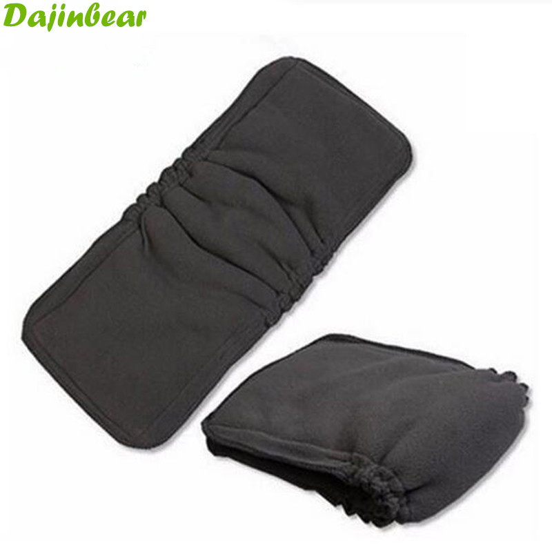 5 Layers 1 PCS Bamboo Charcoal Cotton cloth diapers Inserts Nappy changing mat Baby Diapers Reusable diaper changing pad(China (Mainland))