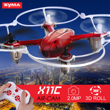 New Arrival SYMA X11C Air 2.4G RC Quadcopter Mini Drone With 2MP HD Record Video Camera Helicopter RC Toy