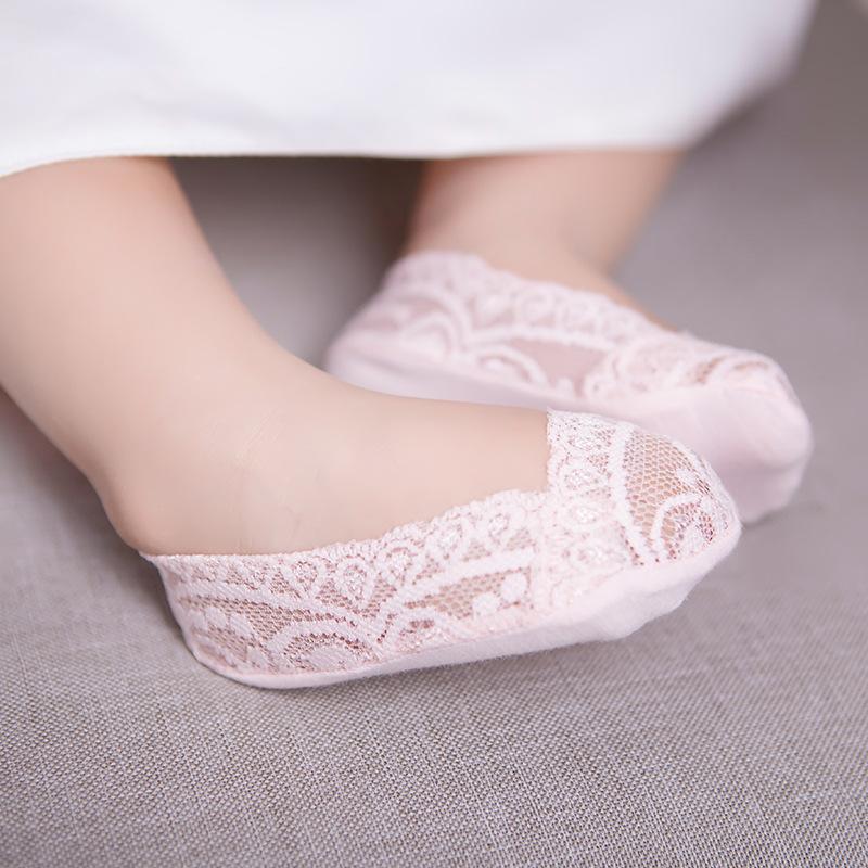 2016 Summer Anti Slip Baby Lace Socks Girls Princess Meias Cute Girls Ancle Socks White Kids Slippers Sox Brand Quality 2-15Y(China (Mainland))