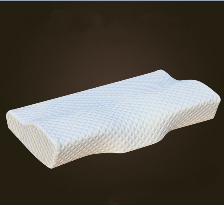 50*30CM Orthopedic Latex Magnetic Neck Pillow Cotton Cover Slow Rebound Memory Foam Pillow Cervical Health Care Pain Release(China (Mainland))