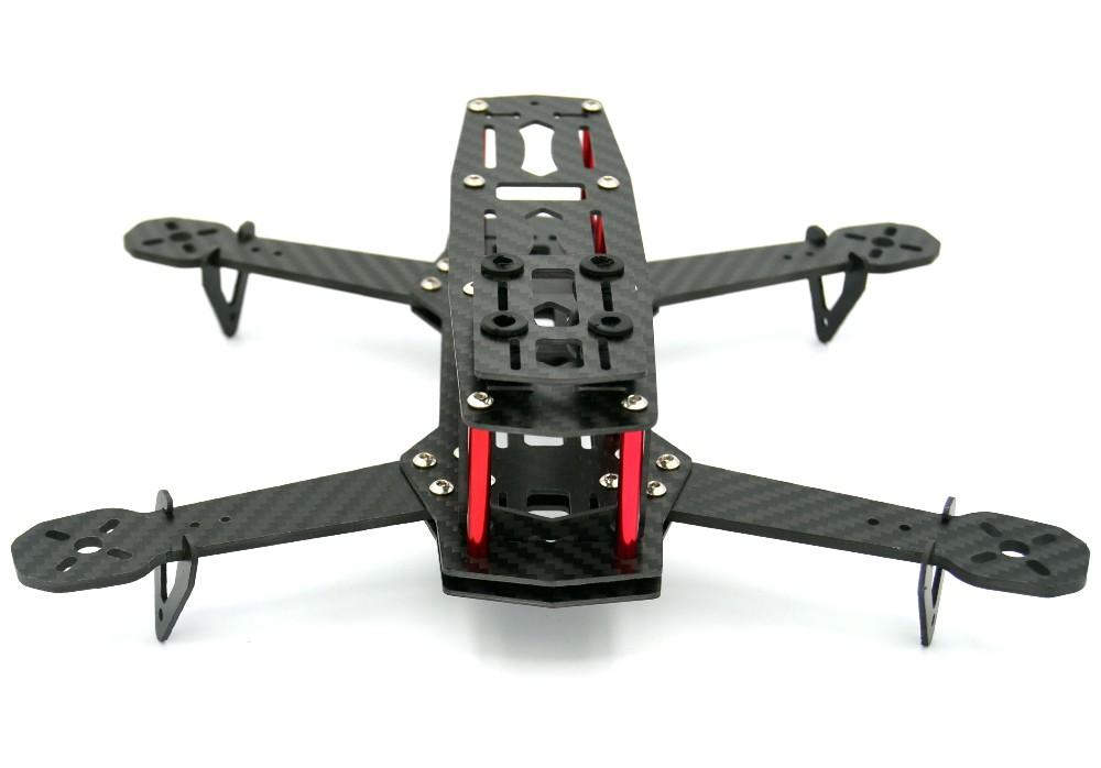 סיבי פחמן מיני QAV250 C250 Quadcopter מסגרת מנוע 12א Esc CC3D בקרת טיסה