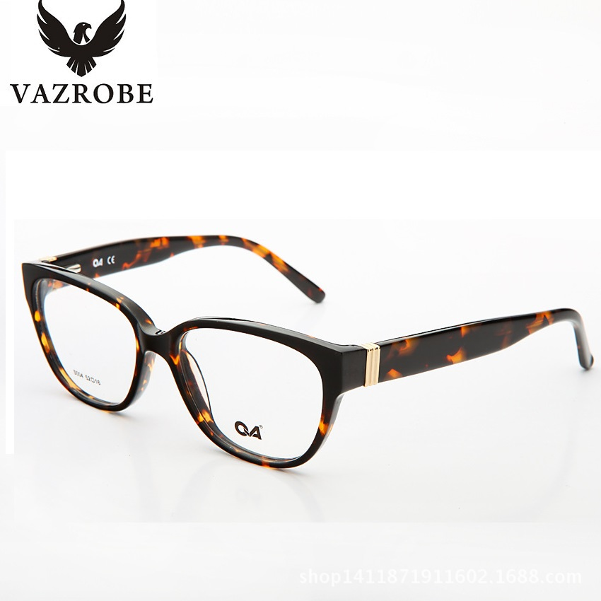 vazrobe best unisex square glasses frame men women black white tortoise eyeglasses frames for myopia spectacles
