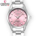 CHENXI Fashion Women Colorful Dial Reloj Mujer Concise Girl Wrist Watches Female Quartz Watches Ladies Rhinestone