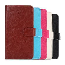 For BLU Studio C 5+5 Case High Quality Mobile Phone 360 Rotation PU Leather With Card Wallet Free Shipping