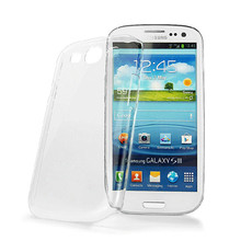 Black White Clear Fast Shipping Plastic Hard Cell Phone Case for samsung galaxy s3 case Accessories 1PCS(China (Mainland))