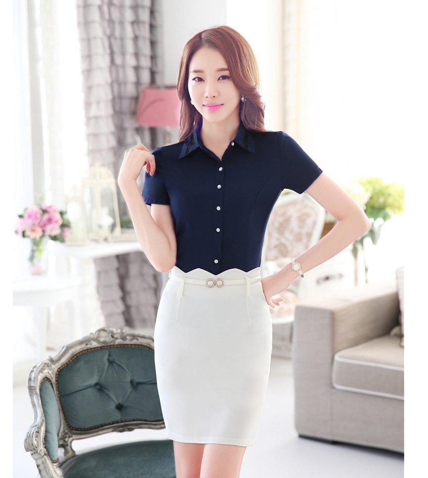 Online Buy Wholesale formal ladies skirts blouses from China ...