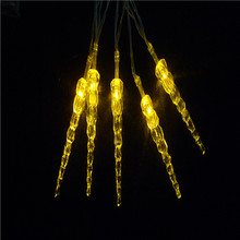 Battery Operated LED Icicle Stick Fairy String Lights for Party Wedding Christmas Winter Decoration(China (Mainland))