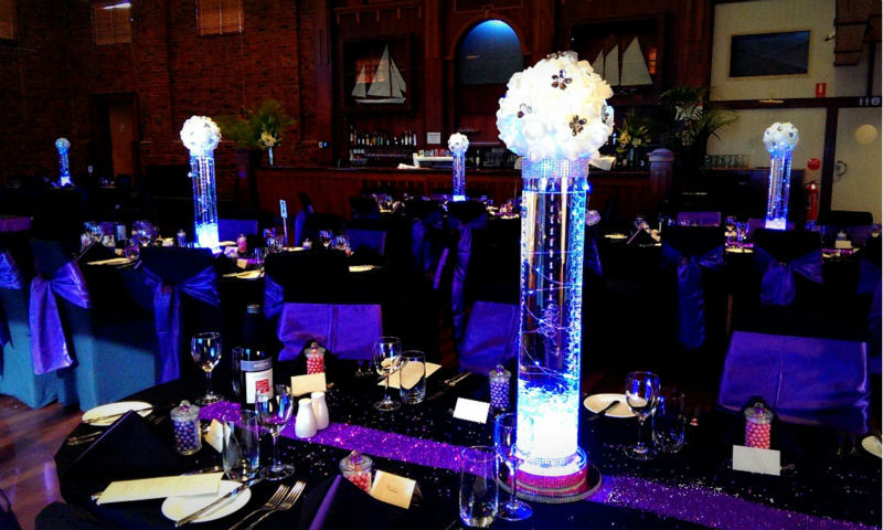 Wedding Table Centerpeices Lighting! Rechargeable Lithium ...