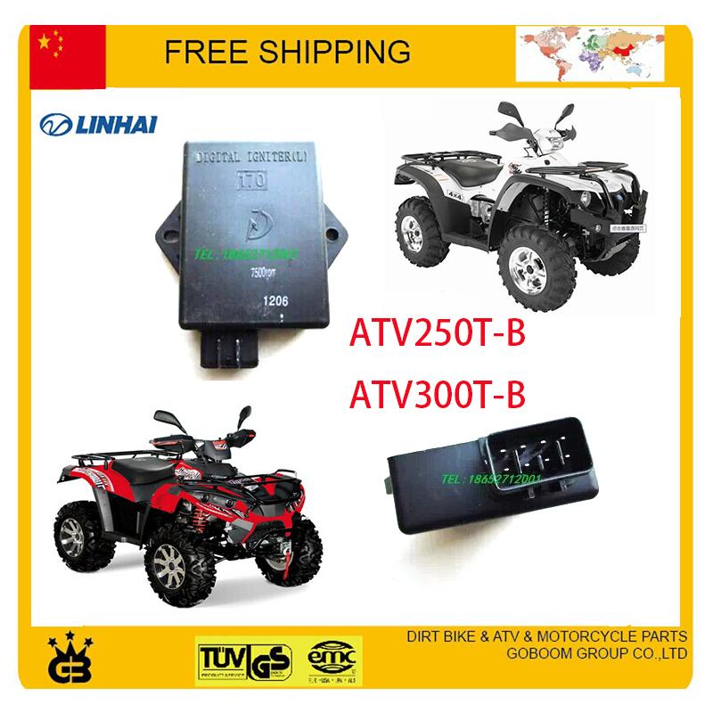 LINHAI BUYANG XINGYUE CDI 250cc 300cc Motorcycle parts 8pins accessories free shipping(China (Mainland))