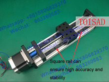 Buy High Precision GX80 Ballscrew 1204 600mm Effective Travel Linear Guide + 57 Nema 23 Stepper Motor CNC Stage Motion Moulde Linear for $193.00 in AliExpress store
