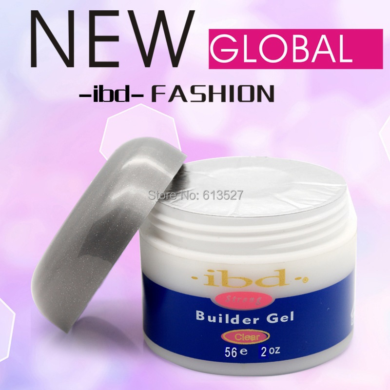1pcs Acrylic nail Gel saloon Clear IBD Builder Gel IBD Builder Gel 2oz / 56g - Strong UV gel for nail art false tips extension(China (Mainland))
