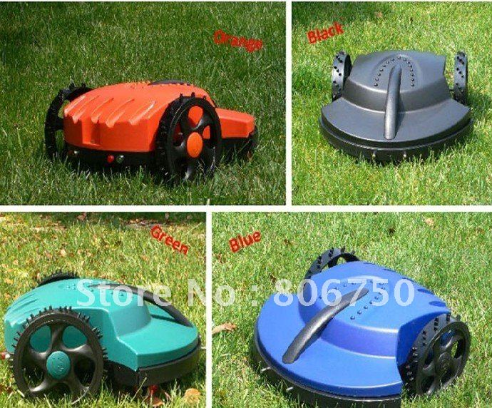 100m Virtual Wire,Intelligent Lawn Mower with Lead-acid Battery,Auto Recharge, Robot Garden Tool Mower +Free Shipping(China (Mainland))