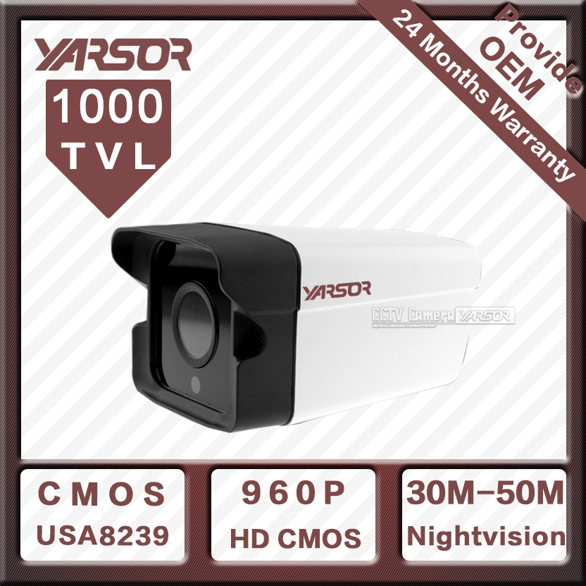 1000TVL Waterproof CCTV Camera Yarsor HDS21000PA Best Price CMOS 2 Array leds Good Day/night Vision Indoor/Outdoor Free Shipping(China (Mainland))