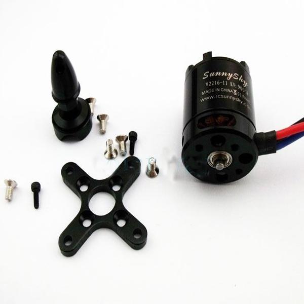 4 Pcs Sunnysky V2216 900kv 900 Outrunner Brushless Motor